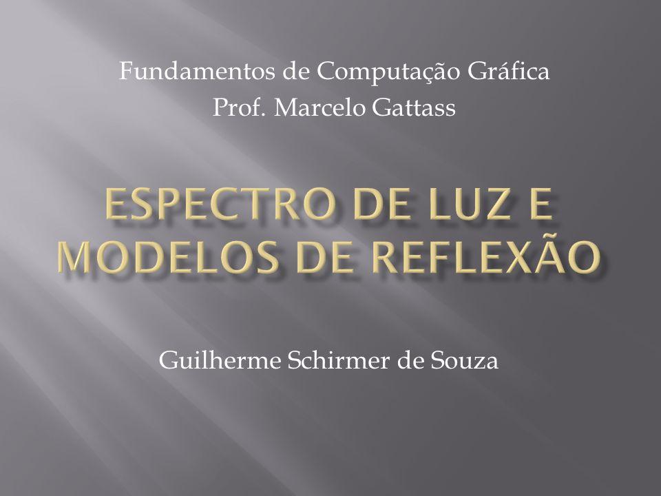 Guilherme Schirmer de Souza Fundamentos de Computação Gráfica Prof. Marcelo Gattass