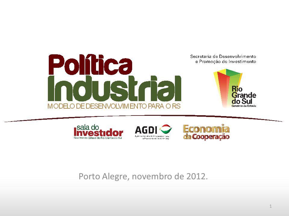 Porto Alegre, novembro de 2012. 1