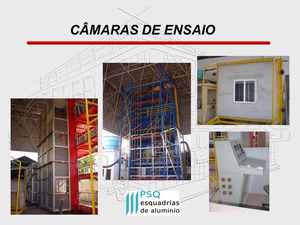 CÂMARAS DE ENSAIO