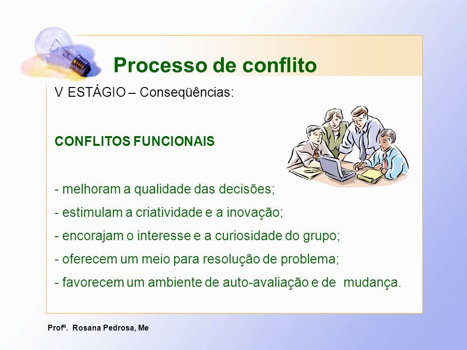 Profª. Rosana Pedrosa, Me - melhoram a qualidade das decisões; - estimulam a criatividade e a inovação; - encorajam o interesse e a curiosidade do gru