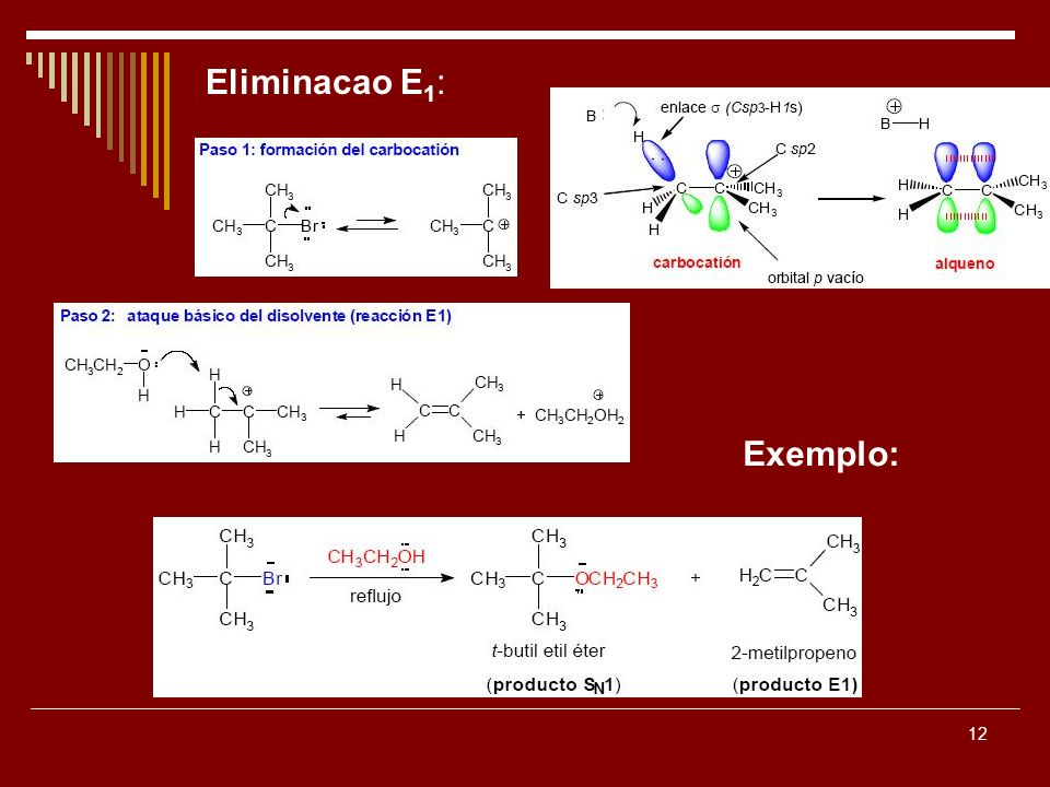 12 Eliminacao E 1 : Exemplo: