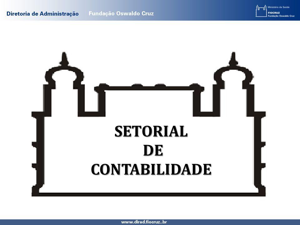 SETORIAL DE DECONTABILIDADE