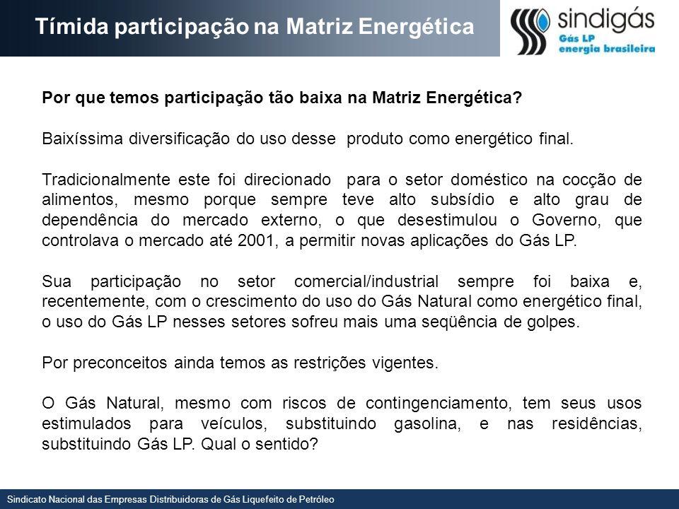 Sindicato Nacional das Empresas Distribuidoras de Gás Liquefeito de Petróleo QUE COMBUSTÍVEIS ESTAMOS AMEAÇANDO Flexibilizar usos (ameaçamos a todos.