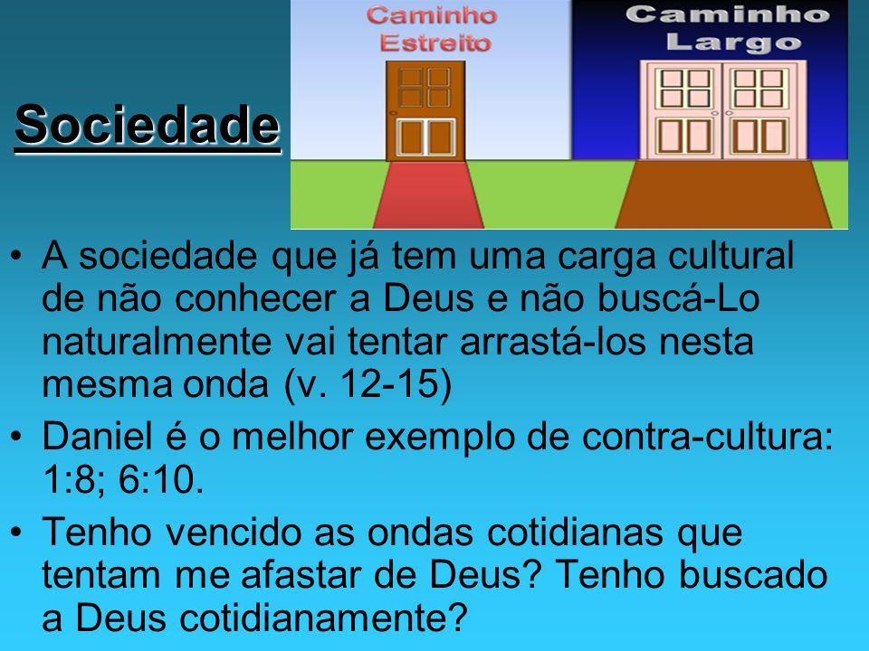 Conclusão: Identifique o que/quem possa estar te afastando de Deus.