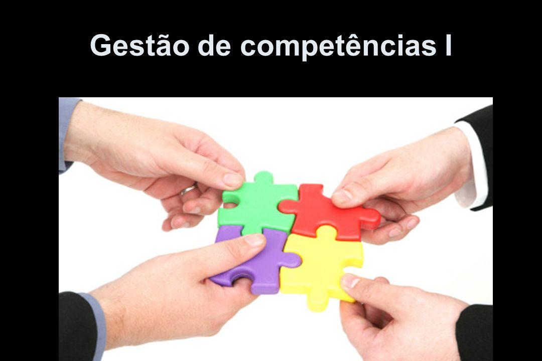 Gestão de competências I