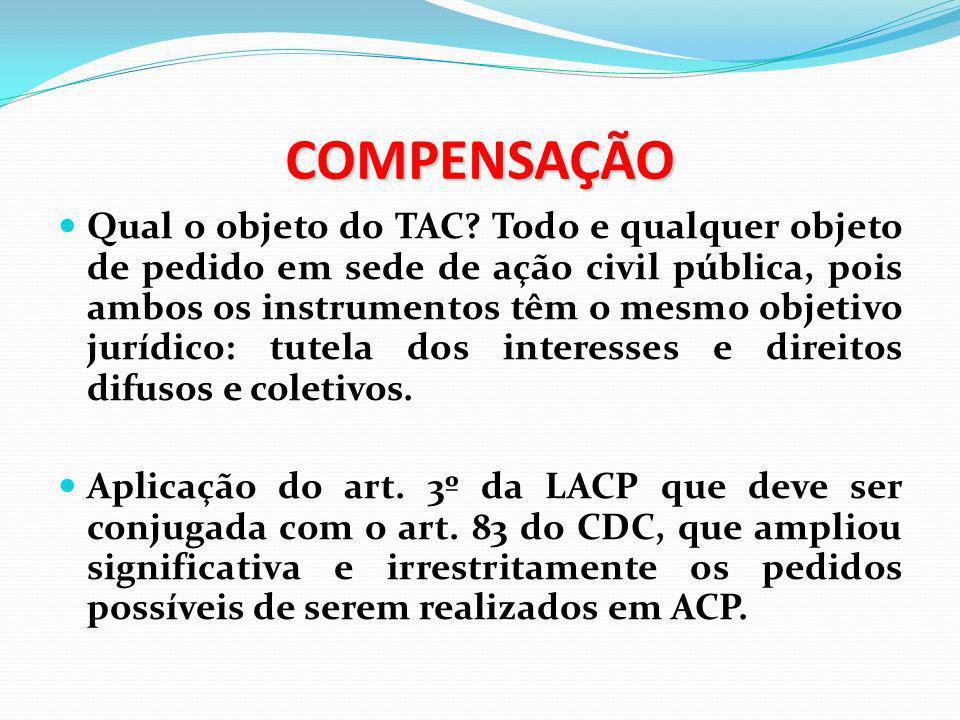 COMPENSAÇÃO Preocupante acórdão do STJ (REsp nº 802060/RS, Rel.