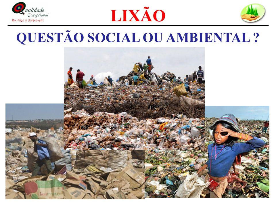 QUESTÃO SOCIAL OU AMBIENTAL ?