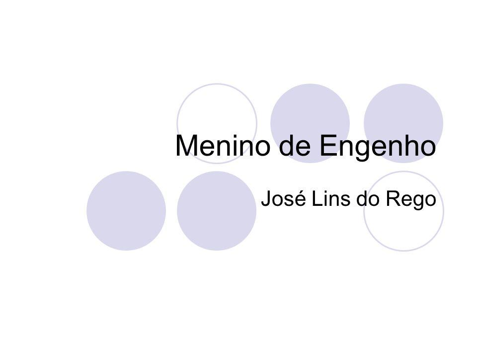 Introdução Em 1932, foi publicado Menino de engenho, de José Lins do Rego.