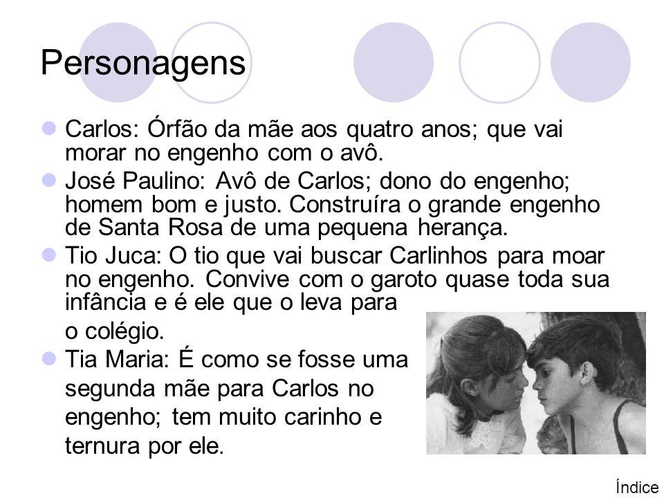 Resumo da obra Na obra Menino de engenho Carlos Melo narra, a infância vivida no engenho Santa Rosa.