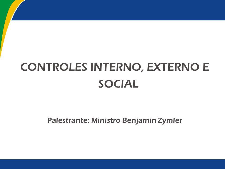 Sumário I - Introdução II - Controle III - Controle Estatal IV - Controle da Administração Pública V - Controle Social