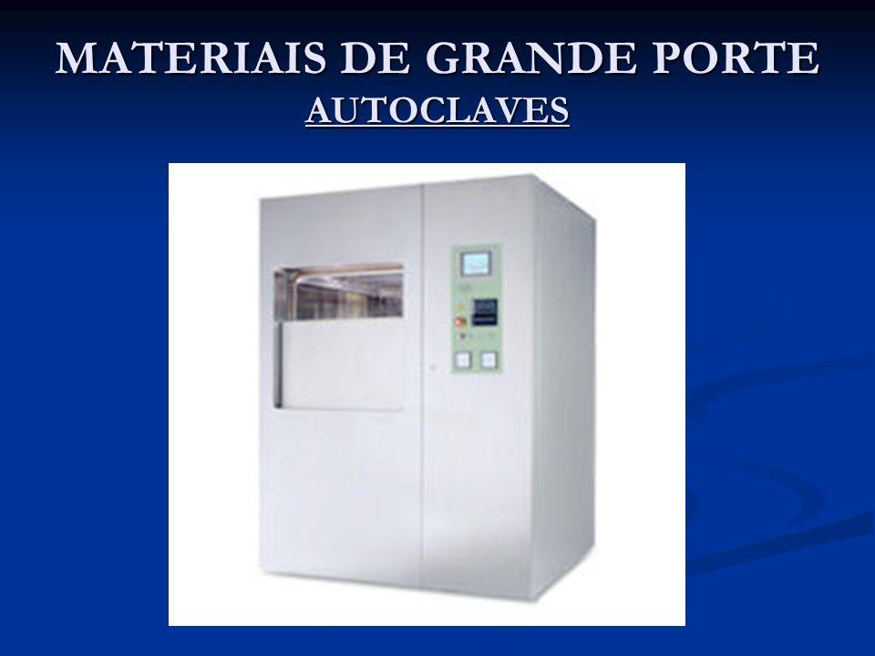 MATERIAIS DE GRANDE PORTE AUTOCLAVES
