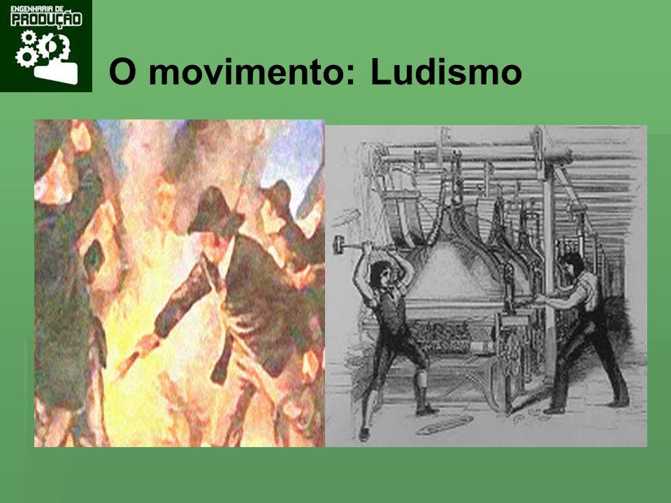 O movimento: Ludismo