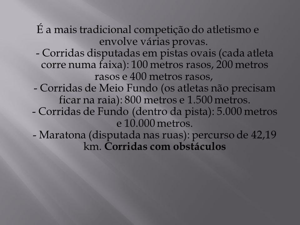 É a mais tradicional competição do atletismo e envolve várias provas.
