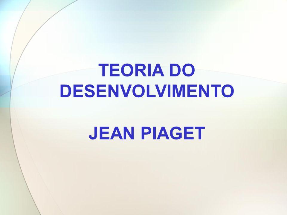 TEORIA DO DESENVOLVIMENTO JEAN PIAGET