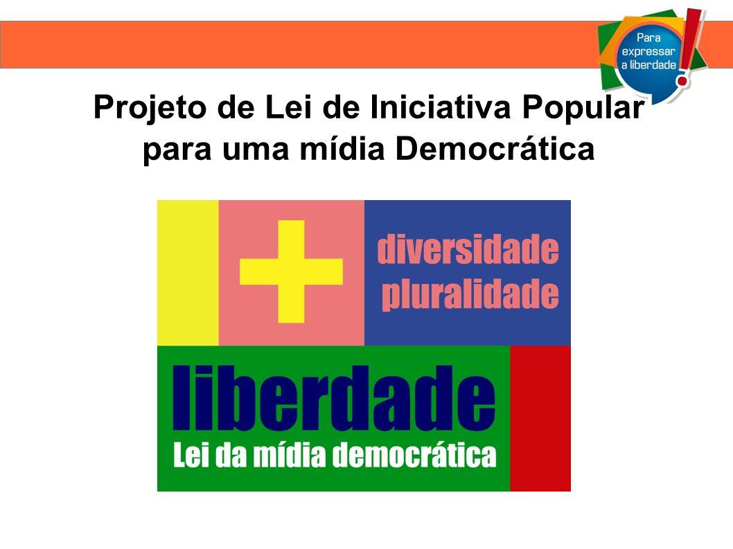 Comunicação é um direito de todos No Brasil, os meios de comunicação estão concentrados nas mãos de poucas empresas familiares que têm a mesma concessão há décadas.
