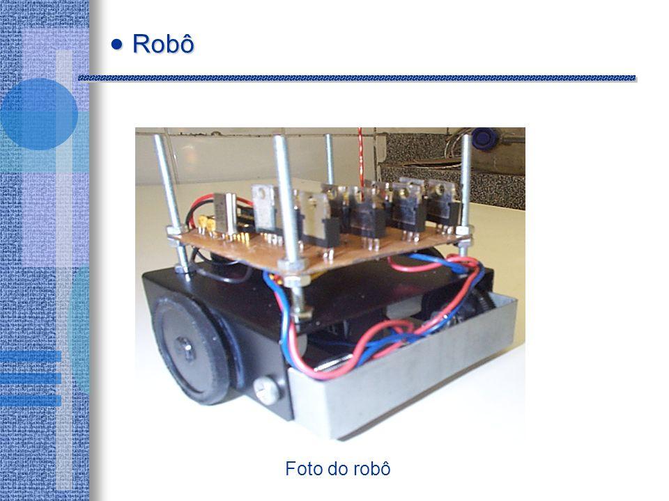 Foto do robô Robô Robô