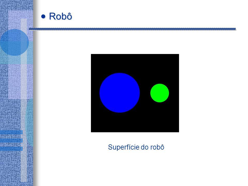 Superfície do robô