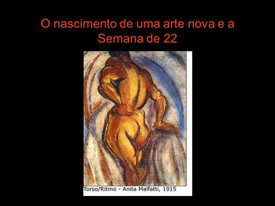 FASE ANTROPOFÁGICA - 1928 A teoria antropofágica propunha que os artistas brasileiros conhecessem os movimentos estéticos modernos europeus, mas criassem uma arte com feição brasileira.