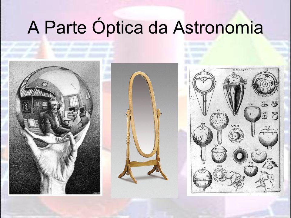 A Parte Óptica da Astronomia