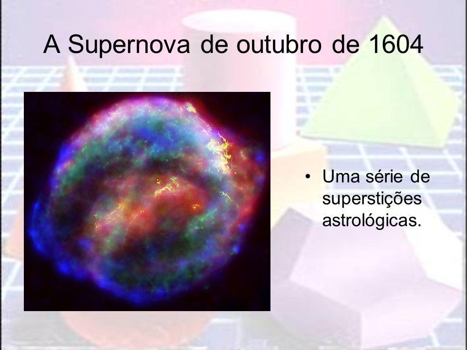 A Supernova de outubro de 1604 Uma série de superstições astrológicas.
