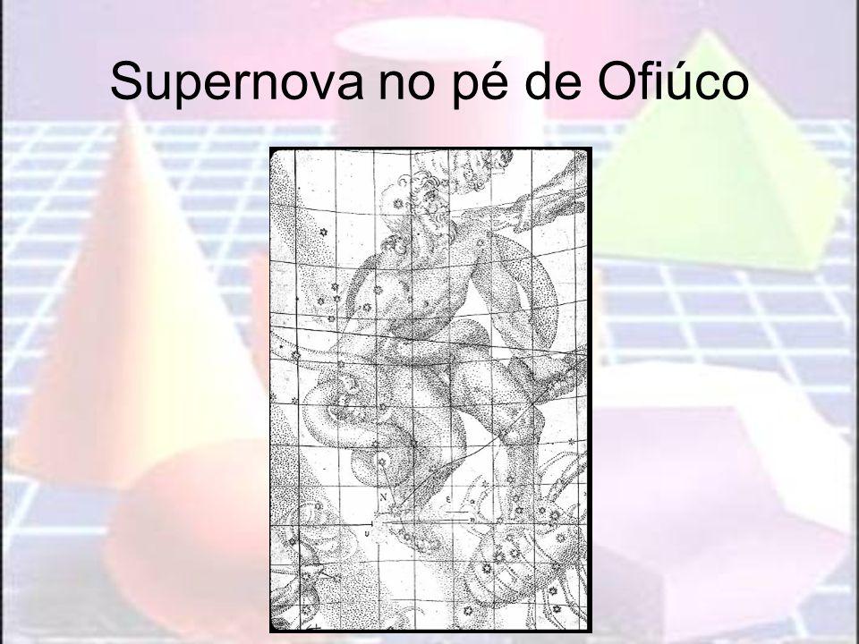 Supernova no pé de Ofiúco