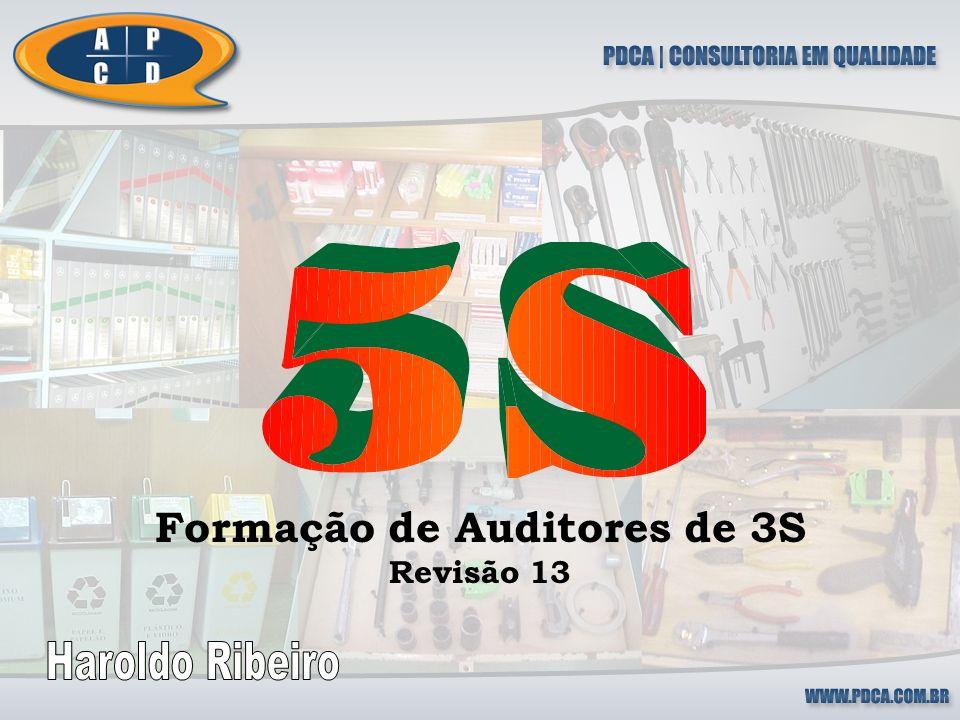 2 Parte 1 Fundamentos da Auditoria de 5S Objetivo: Nivelar conceitos e oferecer informações sobre a sistemática de auditoria de 5S