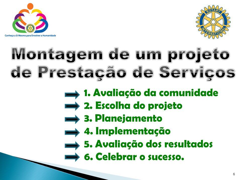 7 Programas da Fundação Rotária Equilíbrio nas atividades de prestação de serviços Cinco Avenidas de Serviços Serviços Internos Serviços Profissionais Serviços à Comunidade Serviços Internacionais Serviços às Novas Gerações Menção Presidencial e ênfases do presidente do RI Programas Estruturados do RI