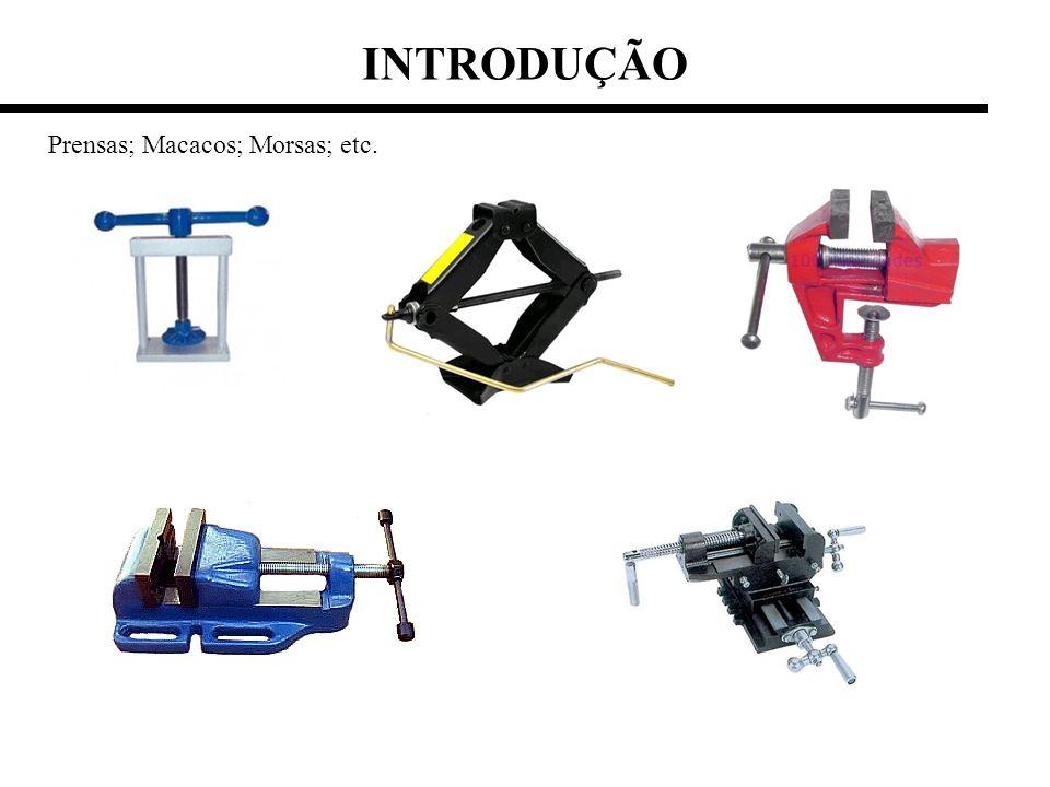 INTRODUÇÃO Prensas; Macacos; Morsas; etc.