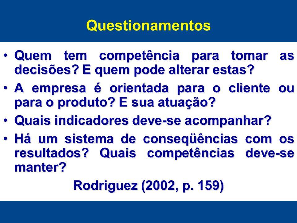 Quem tem competência para tomar as decisões? E quem pode alterar estas?Quem tem competência para tomar as decisões? E quem pode alterar estas? A empre