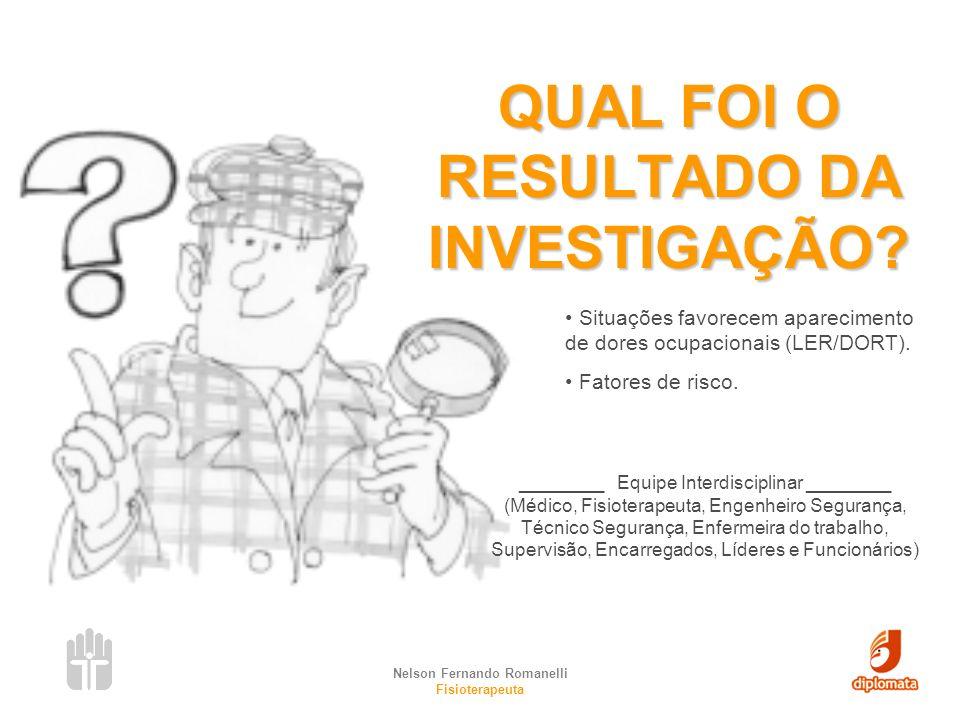 Nelson Fernando Romanelli Fisioterapeuta COMITÊ DE ERGONOMIA Missão: Discutir e planejar as ações ergonômicas dentro da empresa.