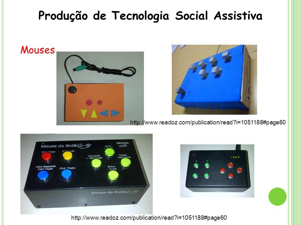 Referências BERSCH, Rita.Introdução à Tecnologia Assistiva, 2008.