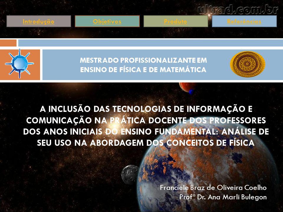 Buscou-se por meio da pesquisa, oferecer uma contribuição ao trabalho docente, dos profissionais do Ensino Fundamental, com uma proposta que aborda o Ensino de Física e alguns conceitos fundamentais de Astronomia.