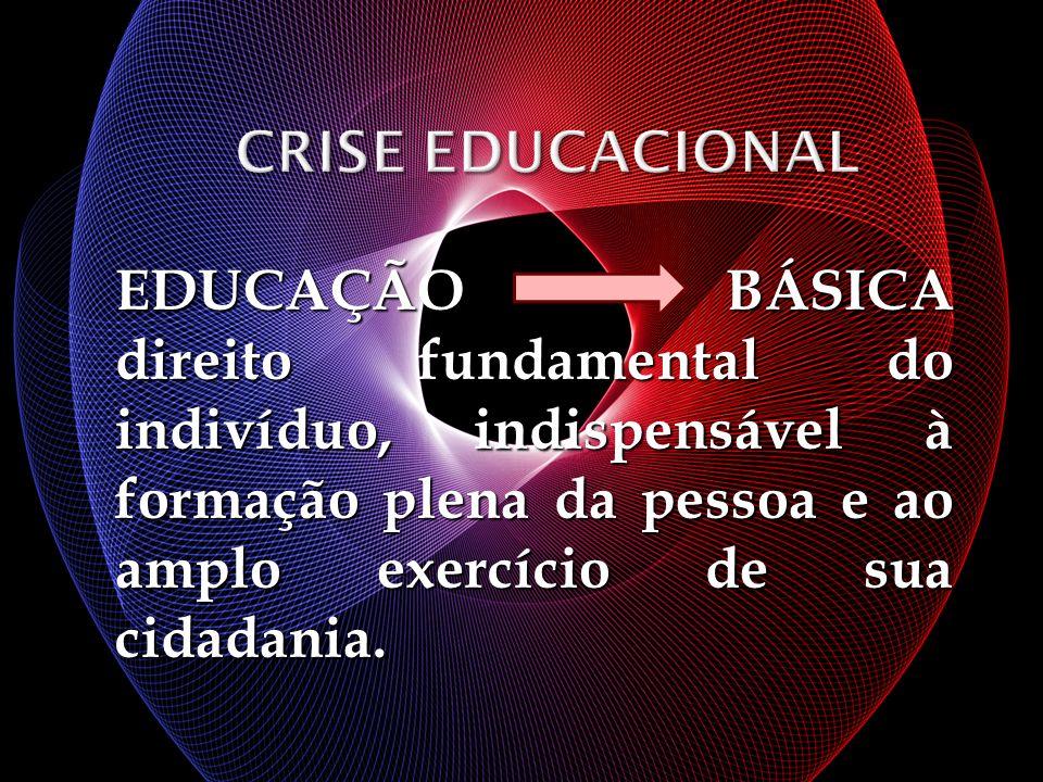 EDUCAÇÃO BÁSICA direito fundamental do indivíduo, indispensável à formação plena da pessoa e ao amplo exercício de sua cidadania.
