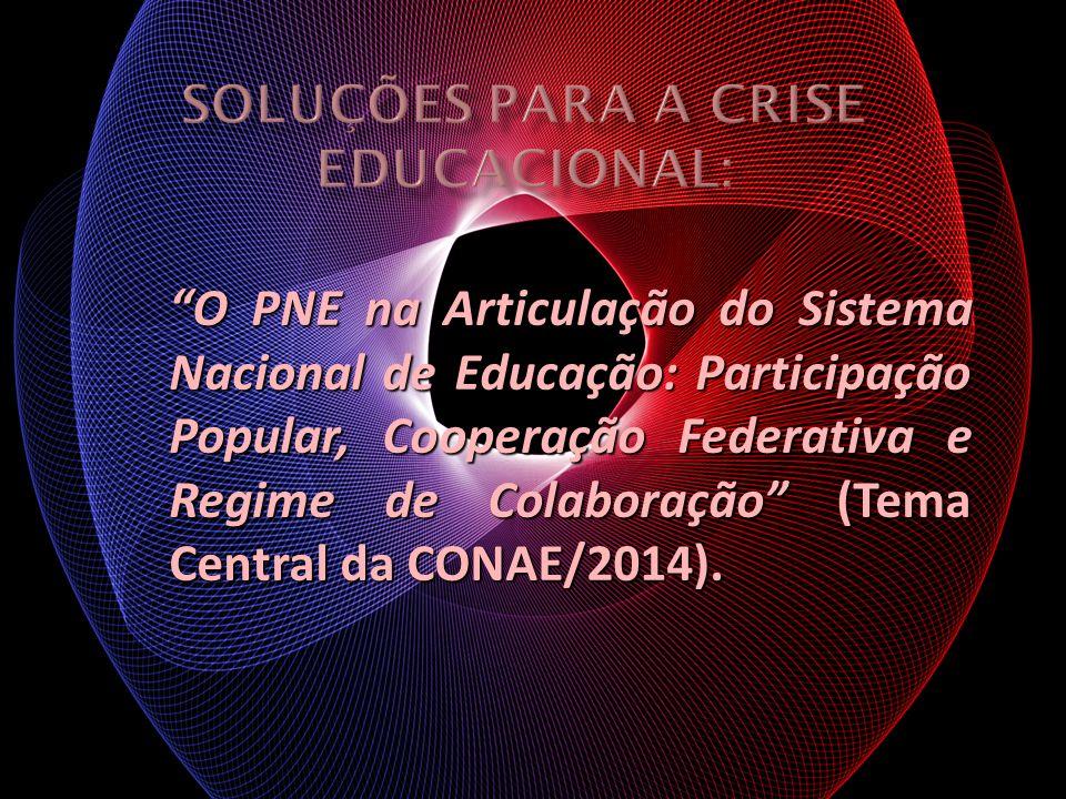 O PNE na Articulação do Sistema Nacional de Educação: Participação Popular, Cooperação Federativa e Regime de Colaboração (Tema Central da CONAE/2014)