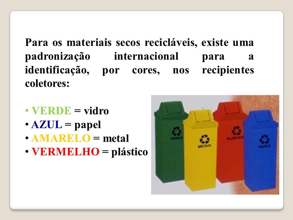 É uma operação que facilita o reuso, o reaproveitamento e a reciclagem dos materiais presentes no lixo Consiste em coletar separadamente os materiais