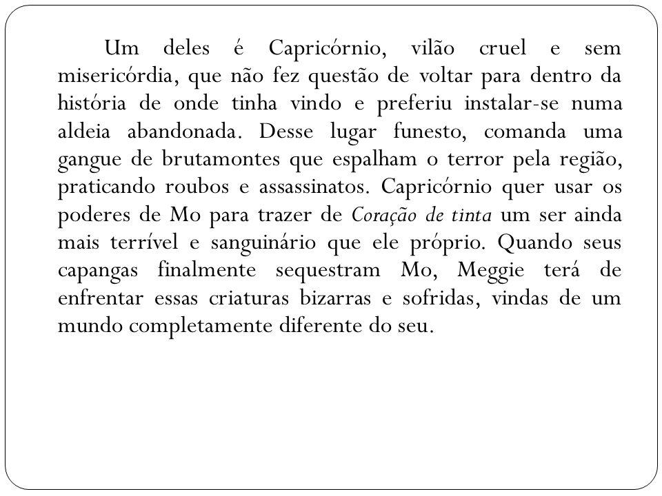 Resenha FUNKE, Cornelia.Coração de Tinta. São Paulo: Cia das Letras.