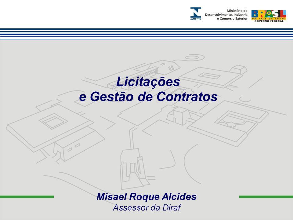 Misael Roque Alcides Assessor da Diraf Licitações e Gestão de Contratos