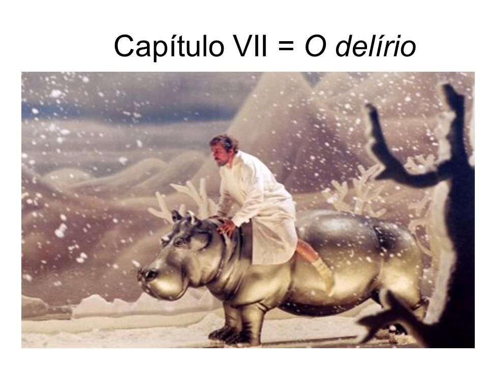 Capítulo VII = O delírio