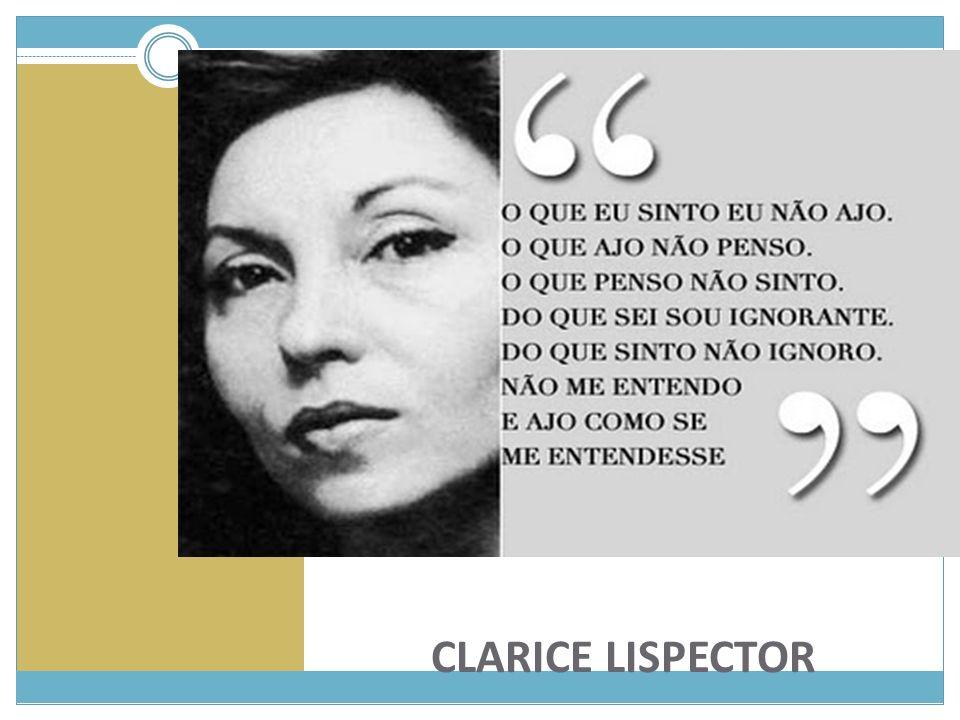Clarice Lispector nasceu em 10 de dezembro de 1925 em Tchetchelnik, Ucrânia.