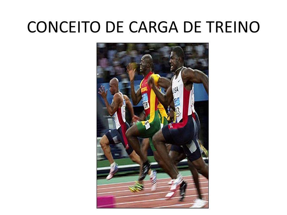 CONCEITO DE CARGA DE TREINO