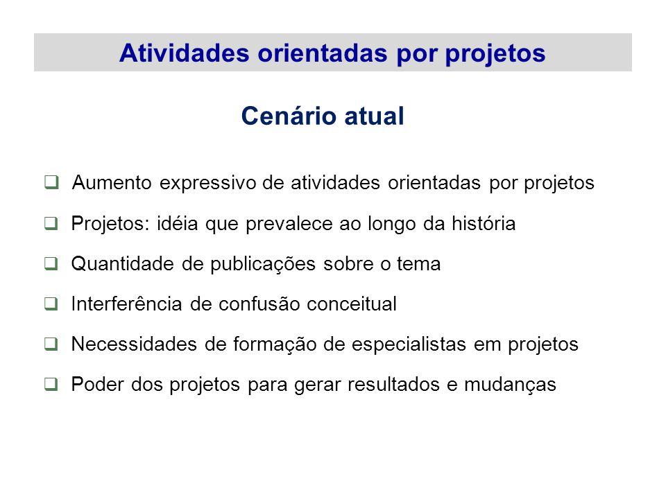 Situação Geradora Justificativa Objetivo Geral Objetivo Específico Resultados Esperados Abrangência 34 Elementos do Escopo de um Projeto