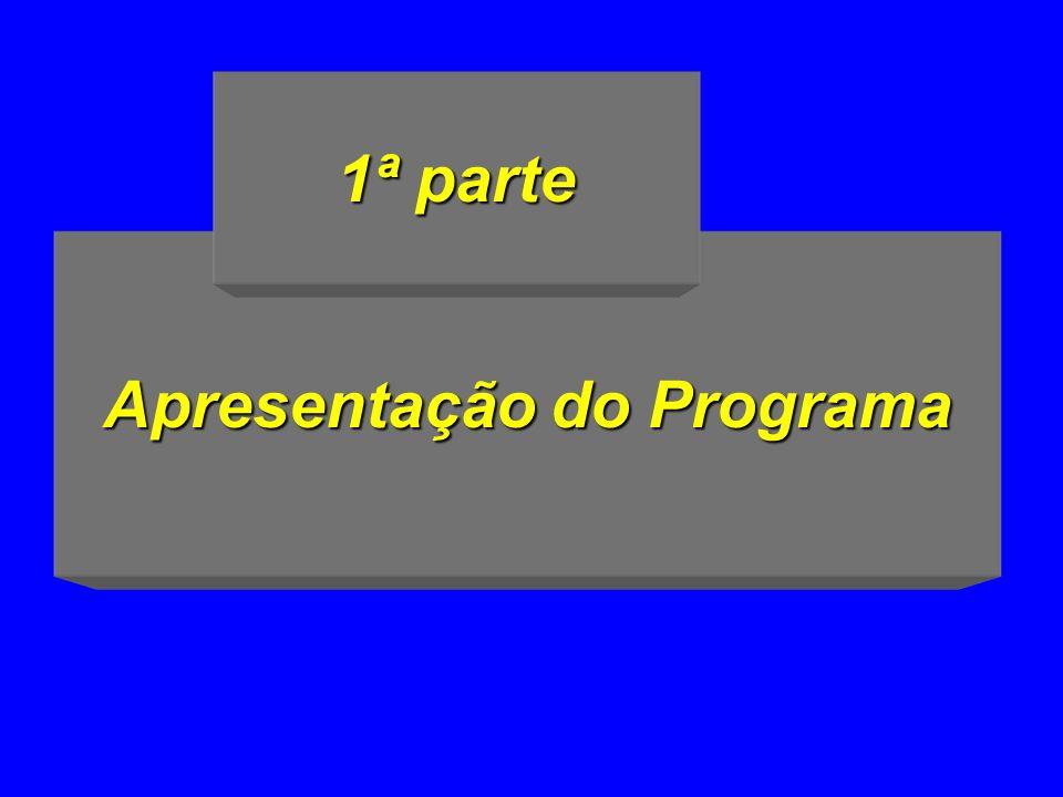 Apresentação do Programa 1ª parte
