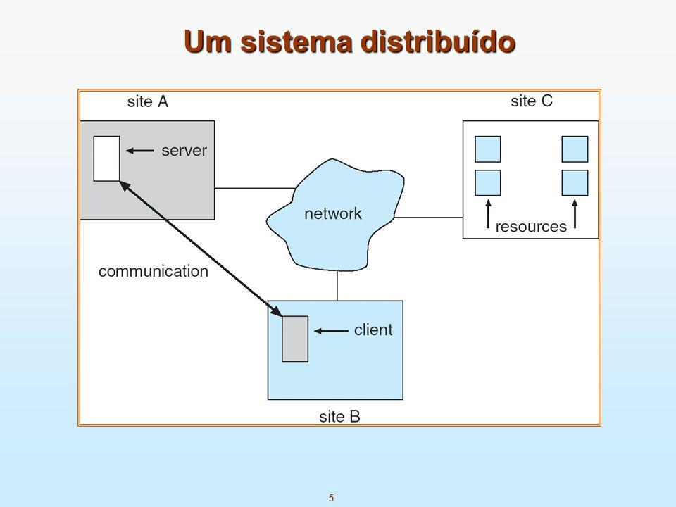 5 Um sistema distribuído
