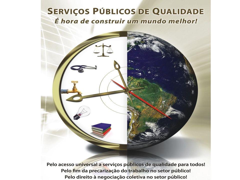 4) Investigar e trocar informação sobre tendências e iniciativas nos serviços públicos.