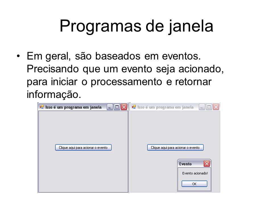 Composição de um jogo Um jogo tem tanto a necessidade de entrada de comandos, como os programas de console; Ex.
