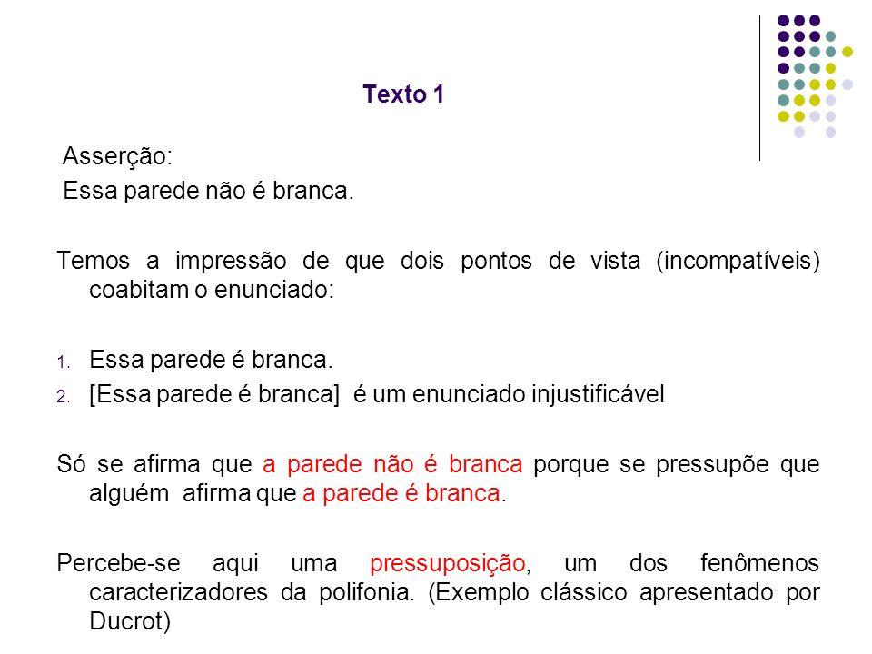 Análise da polifonia no Texto 2 Tirinha de Chico Bacon, publicada na Folha de S.Paulo, 10 out.