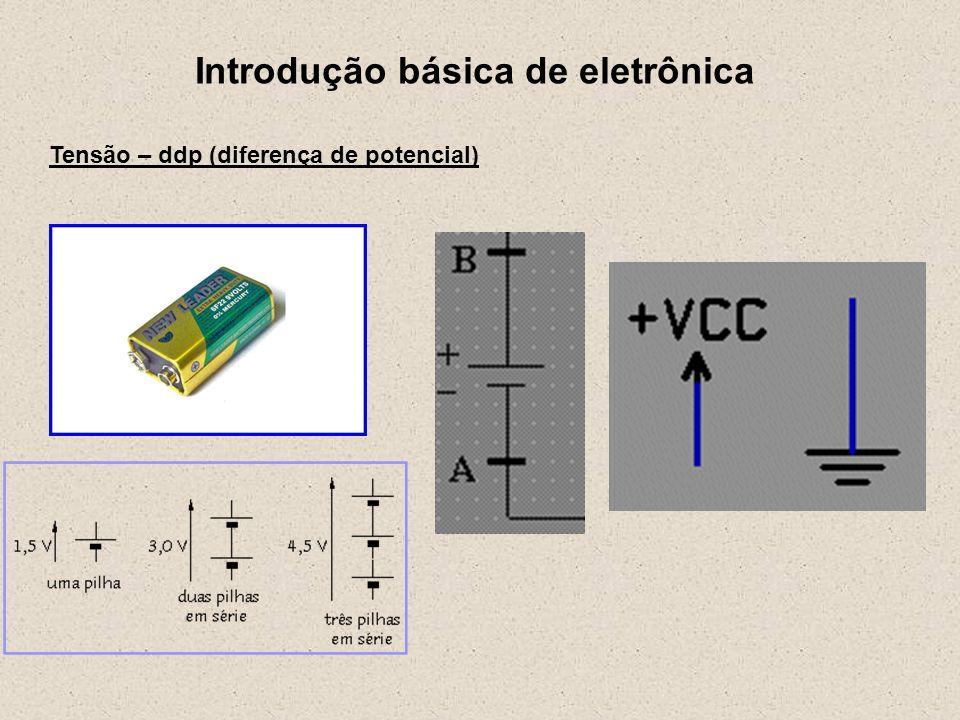Introdução básica de eletrônica Circuito