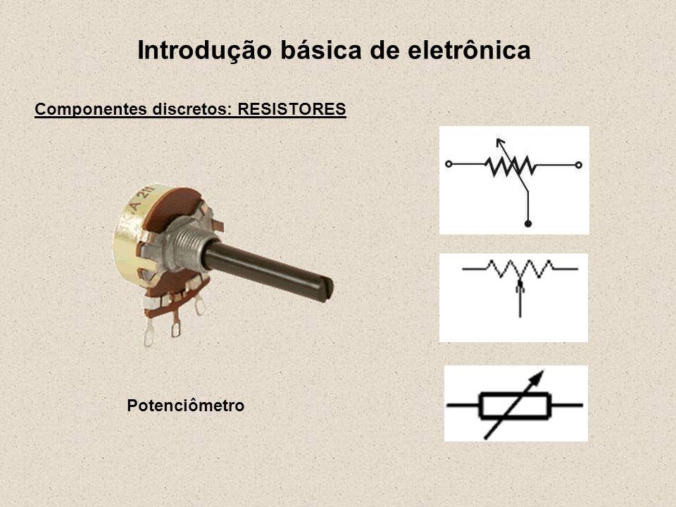 Introdução básica de eletrônica Potenciômetro