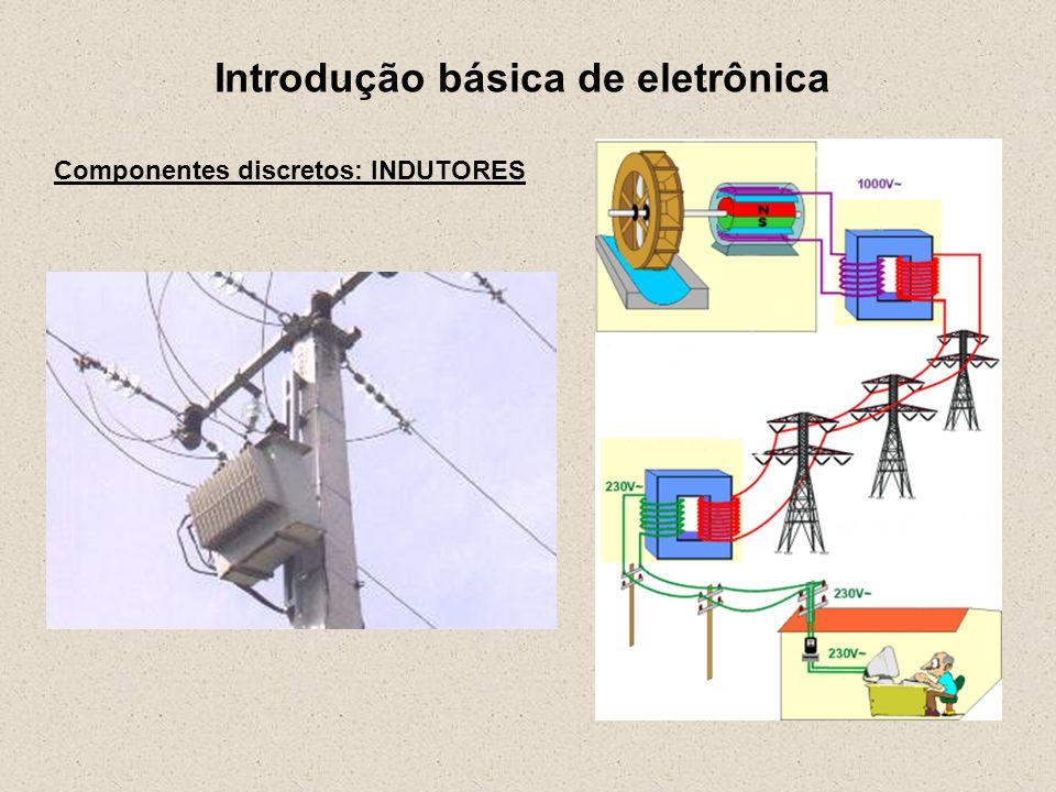 Introdução básica de eletrônica Componentes discretos: INDUTORES