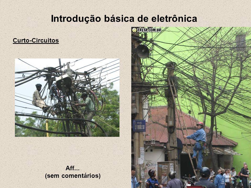 Introdução básica de eletrônica Bibliografia Getting started in electronics – Forrest M.